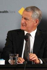 CBA chairman David Turner.