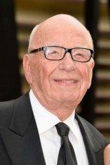 Straightforward: Rupert Murdoch.