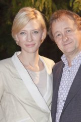On the up ... Sydney Theatre Company directors Cate Blanchett and Andrew Upton have increased profit by 52 per cent on the previous year.