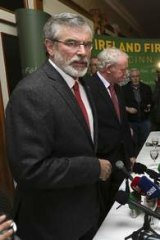 Gerry Adams: No charges laid.