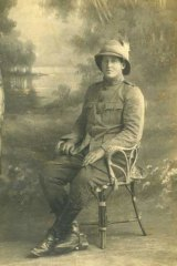 Driver Hector Thomson, 2nd Light Horse Field Ambulance, Cairo, 7 May 1915.