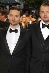 The men of <i>Gatsby</i>: Tobey Maguire, Leonardo DiCaprio amd Baz Luhrmann.