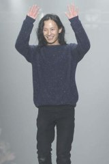 Designer Alexander Wang at the Fall 2013 Mercedes-Benz Fashion Week.