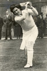 Cricketing great Betty Wilson.