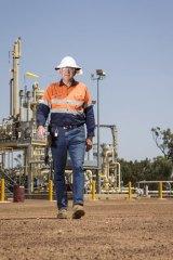 Arrows' Moranbah gas compressions supervisor Mark McGuire.