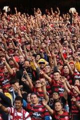 Now: 45,000 spectators.