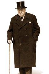 Winston Churchill in 1948.