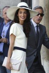 The future POTUS and FLOTUS? George Clooney and Amal Alamuddin.