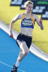 Still competing: Daniela Roman.