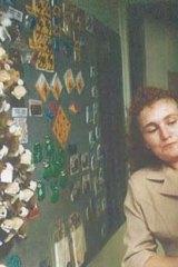 Shot dead: Sandra Cawthorne.