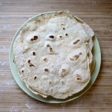 Homemade flour tortillas are among the foods Tippi Thole has started making at home to reduce household waste.