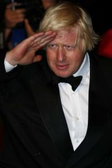Enough's enough: London Mayor Boris Johnson salutes nuclear power and fracking.