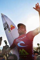 Rebound: Rip Curl benefits from increased spending.