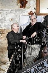 Bruce Milne, Neil Wedd and David Flint.