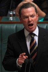 Doubts ... opposition education spokesman Christopher Pyne.