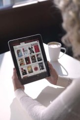Rapid developments ... devices such as the iPad are helping to increase the popularity of ebooks.