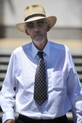 Found guilty ... Sexual offender Robert Phillip Dick outside the Supreme Court last month.