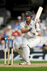Watson's innings was characterised by savage pull shots.