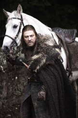 Sean Bean as Ned Stark in Game Of Thrones.