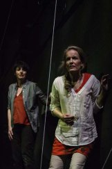 Judith Dodsworth, rear, as Sophie and Rachael Duncan as Amelia in <em>From a Black Sky</em>.