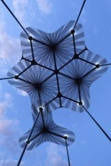 Detail of the prototype for the 2015 MPavilion to be built in Queen Victoria Gardens.