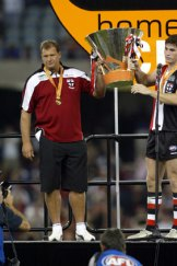 When St Kilda Won The Wizard Cup In 2004 Grant Thomas And Lenny Hayes Didn