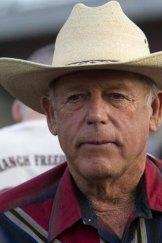 """Rancher Cliven Bundy hosts a Bundy family """"Patriot Party"""" near Bunkerville, Nevada."""