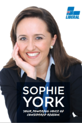 Marriage Alliance spokeswoman Sophie York has ties to the Liberal Party.