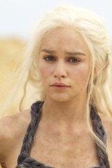 Enchanting ... Emilia Clarke as Daenerys Targaryen.