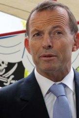 Opposition Leader Tony Abbott.