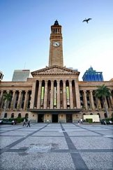 King George Square is off-limits to skateboarders.