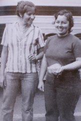 Lorraine Ruth Wilson (left) and Wendy Joy Evans were found murdered in 1978 after they went missing in 1974.