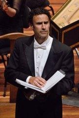 Messiah alto soloist Tobias Cole.