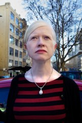 Dr Shari Parker, secretary of the Albinism Fellowship of Australia, objects to the depiction of albinos in film.