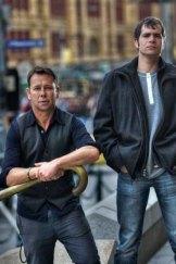 Damien Christie (left) and David Lograsso.