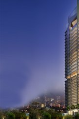 Artist's impressions of Leonie Parc View Tower, the exclusive Singapore residential address of Joe Gutnick.