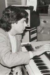 Jean Michel Jarre at the controls.