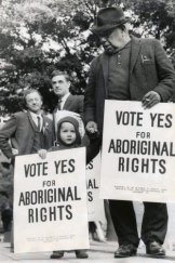 The 1967 referendum on Aboriginal rights.