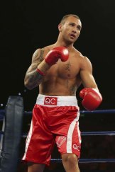 Quade Cooper will take on Warren Tresidder at the Brisbane Entertainment Centre on Wednesday night.