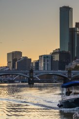 Hire a boat from Melbourne Boat Hire in Docklands, for two or four hours.