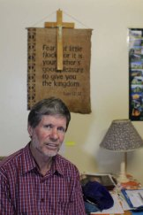 On a mission … NZ-born PNG resident Father Philip Gibbs.