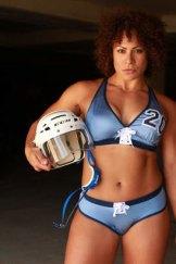 NSW Surge player Tahina Booth.