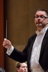 Conductor Graham Abbott.