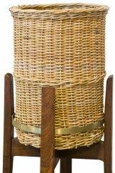 Fred Ward's <i>Wastepaper basket for the National Library of Australia</i> c.1964, National Library of Australia, Canberra.