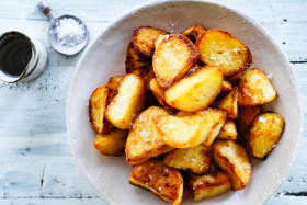 Salt and vinegar potatoes:  Your new favourite side (or main)?