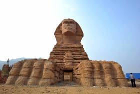 Outrage over China's fake sphinx, and there's more to come