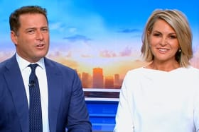 Media personalities rally behind Georgie Gardner over Stefanovic saga