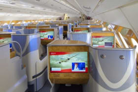 Flight test: This superjumbo business class is flawless