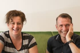 Chefs Allan Campion and Michele Curtis: 'He had something to tell me'