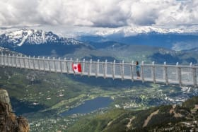 Whistler's new terrifying mountaintop suspension bridge